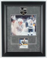 Wayne Gretzky Signed Kings 17x21 Custom Framed Photo Display (JSA COA) at PristineAuction.com