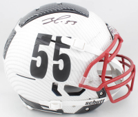 Frank Clark Signed Full-Size Authentic On-Field Hydro-Dipped F7 Helmet (JSA COA) at PristineAuction.com
