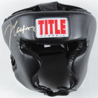 Julio Cesar Chavez Signed Title Classic Headgear (Beckett COA) at PristineAuction.com