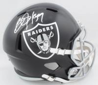 Bo Jackson Signed Raiders Full-Size Blaze Speed Helmet (JSA COA) at PristineAuction.com