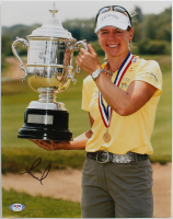 Annika Sorenstam Signed 11x14 Photo (PSA Hologram) at PristineAuction.com