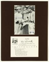 """Smoky"" Joe Wood Signed Red Sox 11x14 Custom Matted Photo Display (PSA COA) at PristineAuction.com"