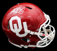 Adrian Peterson Signed Oklahoma Sooners Full-Size Authentic On-Field Speed Helmet (Beckett COA) at PristineAuction.com