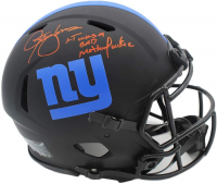 "Lawrence Taylor Signed Giants Full-Size Authentic On-Field Eclipse Alternate Speed Helmet Inscribed ""LT Was a Bad M***********"" (Radtke COA) at PristineAuction.com"