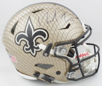 Michael Thomas Signed Saints Full-Size Authentic On-Field Hydro Dipped SpeedFlex Helmet (JSA COA) at PristineAuction.com