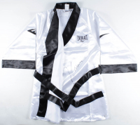 Julio Cesar Chavez Signed Everlast Boxing Robe (Becket COA) at PristineAuction.com
