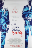 """Kiss Kiss Bang Bang"" 27x40 Original Double Sided Movie Poster at PristineAuction.com"