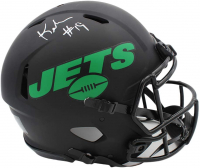 Keyshawn Johnson Signed Jets Full-Size Eclipse Alternate Authentic On-Field Speed Helmet (Radtke COA) at PristineAuction.com