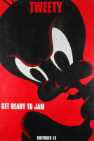 """LE Tweety Bird """"Space Jam"""" 27x40 Teaser Character Movie Poster at PristineAuction.com"""