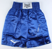 Cesar Chavez Signed Boxing Trunks (Beckett COA) at PristineAuction.com