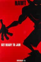"""LE Nawt """"Space Jam"""" 27x40 Teaser Character Movie Poster at PristineAuction.com"""