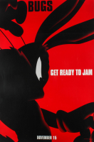 "LE Bugs Bunny ""Space Jam"" 27x40 Teaser Character Movie Poster at PristineAuction.com"