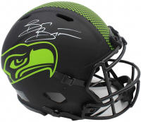 Brian Bosworth Signed Seahawks Full-Size Authentic On-Field Eclipse Alternate Speed Helmet (Radtke COA) at PristineAuction.com