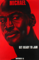 "LE Michael Jordan ""Space Jam"" 27x40 Teaser Character Movie Poster at PristineAuction.com"