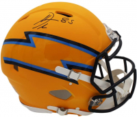Antonio Gates Signed Chargers Full-Size AMP Alternate Authentic On-Field Speed Helmet (Radtke COA) at PristineAuction.com