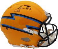 Antonio Gates Signed Chargers Full-Size AMP Alternate Authentic On-Field Speed Helmet (Radtke COA) at PristineAuction.com