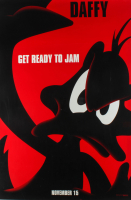 """LE Daffy """"Space Jam"""" 27x40 Teaser Character Movie Poster at PristineAuction.com"""