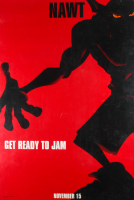 "LE Nawt ""Space Jam"" 27x40 Teaser Character Movie Poster at PristineAuction.com"