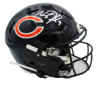 Nick Foles Signed Bears Full-Size Authentic On-Field SpeedFlex Helmet (Fanatics Hologram) at PristineAuction.com