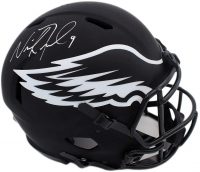 Nick Foles Signed Eagles Full-Size Authentic On-Field Eclipse Alternate Speed Helmet (Fanatics Hologram) at PristineAuction.com