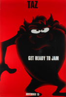 "LE Taz ""Space Jam"" 27x40 Teaser Character Movie Poster at PristineAuction.com"
