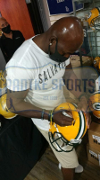Donald Driver Signed Packers Full-Size AMP Alternate Authentic On-Field Speed Helmet (Radtke COA) at PristineAuction.com