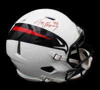 Tony Gonzalez Signed Falcons Full-Size AMP Alternate Authentic On-Field Speed Helmet (Radtke COA) at PristineAuction.com