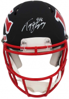 Tony Gonzalez Signed Chiefs Full-Size AMP Alternate Speed Authentic On-Field Helmet (Rastke COA) at PristineAuction.com