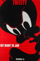 "LE Tweety Bird ""Space Jam"" 27x40 Teaser Character Movie Poster at PristineAuction.com"