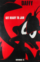 "LE Daffy ""Space Jam"" 27x40 Teaser Character Movie Poster at PristineAuction.com"