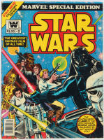 """Vintage 1977 """"Star Wars"""" Vol. 1 Issue #2 Marvel Special Edition Comic Book at PristineAuction.com"""