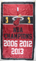 Heat NBA Champions Banner at PristineAuction.com