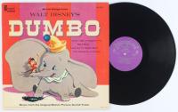 "Vintage 1959 Walt Disney's ""Dumbo"" Vinyl Record Album at PristineAuction.com"