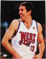 Steve Nash Signed All-Star Game 11x14 Photo (PSA Hologram) at PristineAuction.com