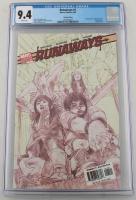 "LE 2005 ""Runaways"" Issue #1 Marvel Comic Book (CGC 9.4) at PristineAuction.com"