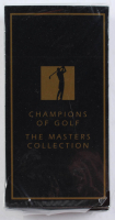 1997-98 Grand Slam The Masters Collection Gold Foil Complete Set of (63) Golf Cards with 1997 Tiger Woods RC at PristineAuction.com