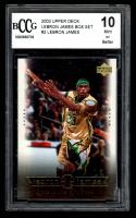LeBron James 2003 Upper Deck LeBron James Box Set #2 / State Champs (BCCG 10) at PristineAuction.com