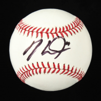 Mike Trout Signed OML Baseball (Beckett COA) at PristineAuction.com
