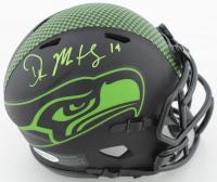 D. K. Metcalf Signed Seahawks Eclipse Alternate Speed Mini Helmet (Beckett COA) at PristineAuction.com