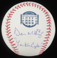 "Don Mattingly Signed Yankee Stadium Logo OML Baseball Inscribed ""Yankee Captain"" (JSA COA) at PristineAuction.com"