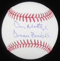 "Don Mattingly Signed OML Baseball Inscribed ""Donnie Baseball"" (JSA COA) at PristineAuction.com"