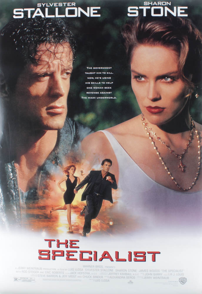 """""""The Specialist"""" 27x40 Double Sided Movie Poster at PristineAuction.com"""