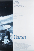"""Contact"" 27x40 Teaser Movie Poster at PristineAuction.com"