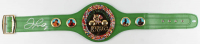 Floyd Mayweather Jr. Signed Full-Size WBC Heavyweight Championship Belt (Beckett COA) at PristineAuction.com