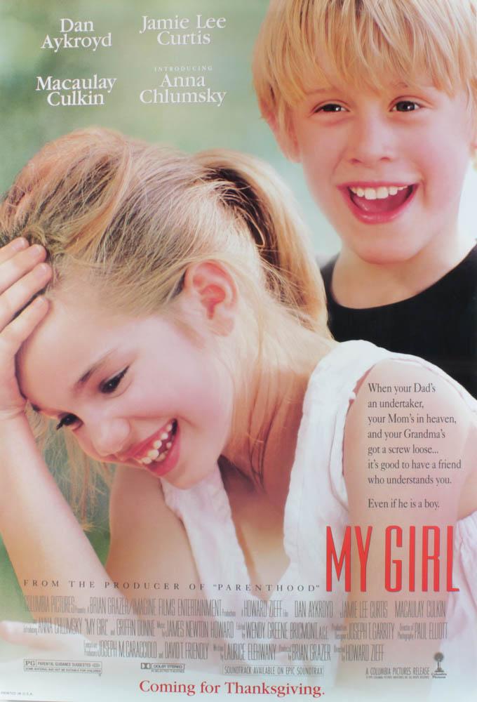 """My Girl"" 27x40 Original Movie Poster at PristineAuction.com"