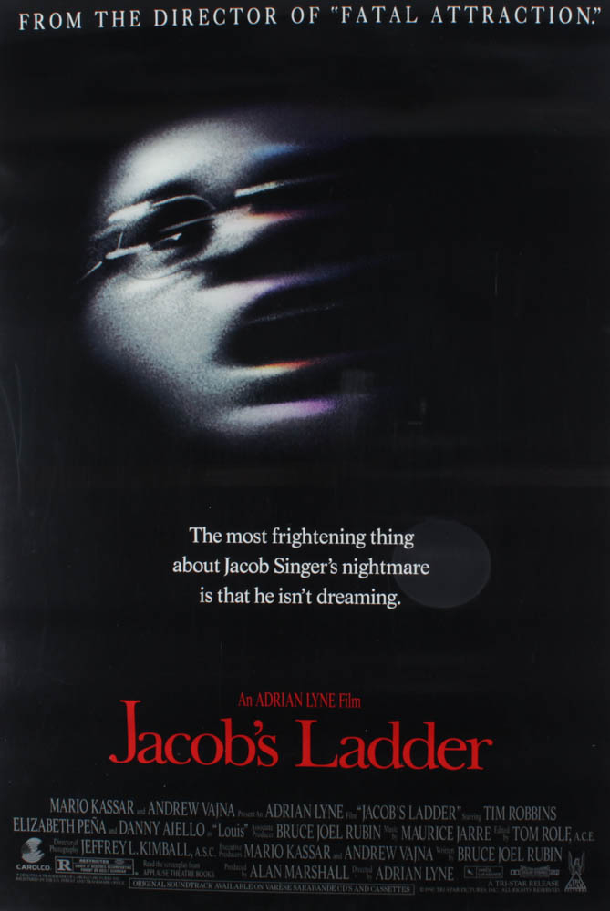 """""""Jacob's Ladder"""" 27x40 Movie Poster at PristineAuction.com"""