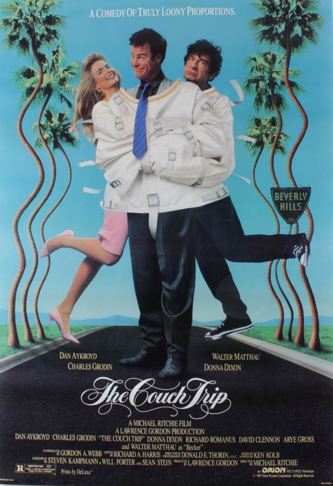 """""""The Couch Trip"""" 27x40 Original Movie Poster at PristineAuction.com"""