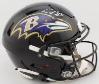 Lamar Jackson Signed Ravens Authentic On-Field Full-Size Speed Flex Helmet (JSA COA) at PristineAuction.com