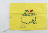 Bubba Watson Signed The 2014 Masters Flag (Beckett COA) at PristineAuction.com