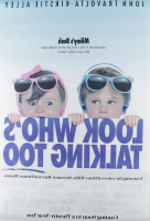 """""""Look Who's Talking Too"""" 27x40 Double Sided Original Movie Poster at PristineAuction.com"""